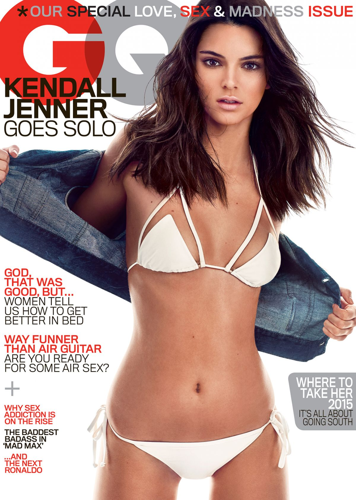 Gq Magazine The Secrets Of R Kelly: KENDALL JENNER In GQ Magazine, May 2015 Issue