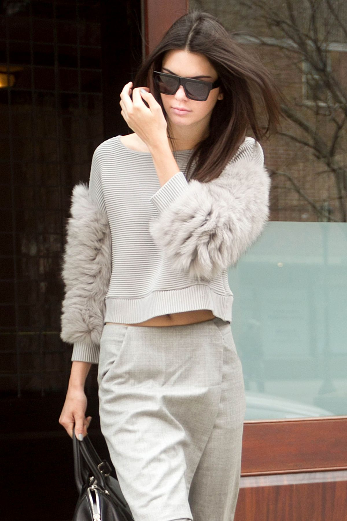 KENDALL JENNER Leaves Her Hotel in New York