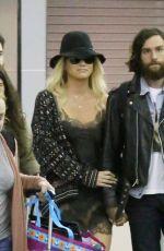 KESHA Arrives at Airport in New York