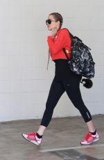 KHLOE KARDASHIAN Arrives at a Gym in Beverly Gills 04/29/2015