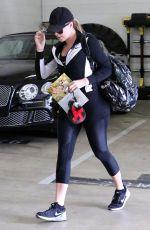 KHLOE KARDASHIAN at a Gym in Beverly Hills 04/21/2015