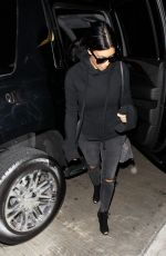 KIM KARDASHIAN Arrives at LAX Airport in Los Angeles 04/20/2015