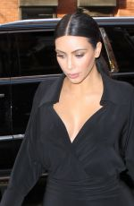 KIM KARDASHIAN Out and About in New York 04/23/2015