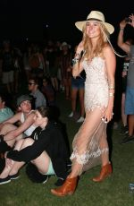 KIMBERLEY GARNER at Coachella Valley Music Festival, Day 3
