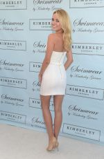 KIMBERLEY GARNER at Her Luxury Swimwear Collection Launch Party in West Hollywood