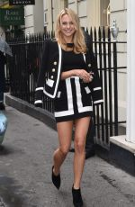 KIMBERLEY GARNER Out and About in London 04/29/2015