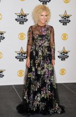 KIMBERLY SCHLAPMAN at Academy of Country Music Awards 2015 in Arlington