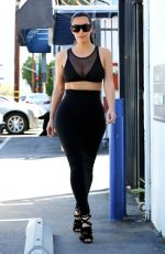 KIMKARDASHIAN Out and About in Studio City