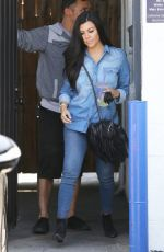 KOURTNEY KARDASHIAN in Jeans Out and About in Los Angeles 04/20/2015
