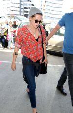 KRISTEN STEWART Arrives at Los Angeles International Airport