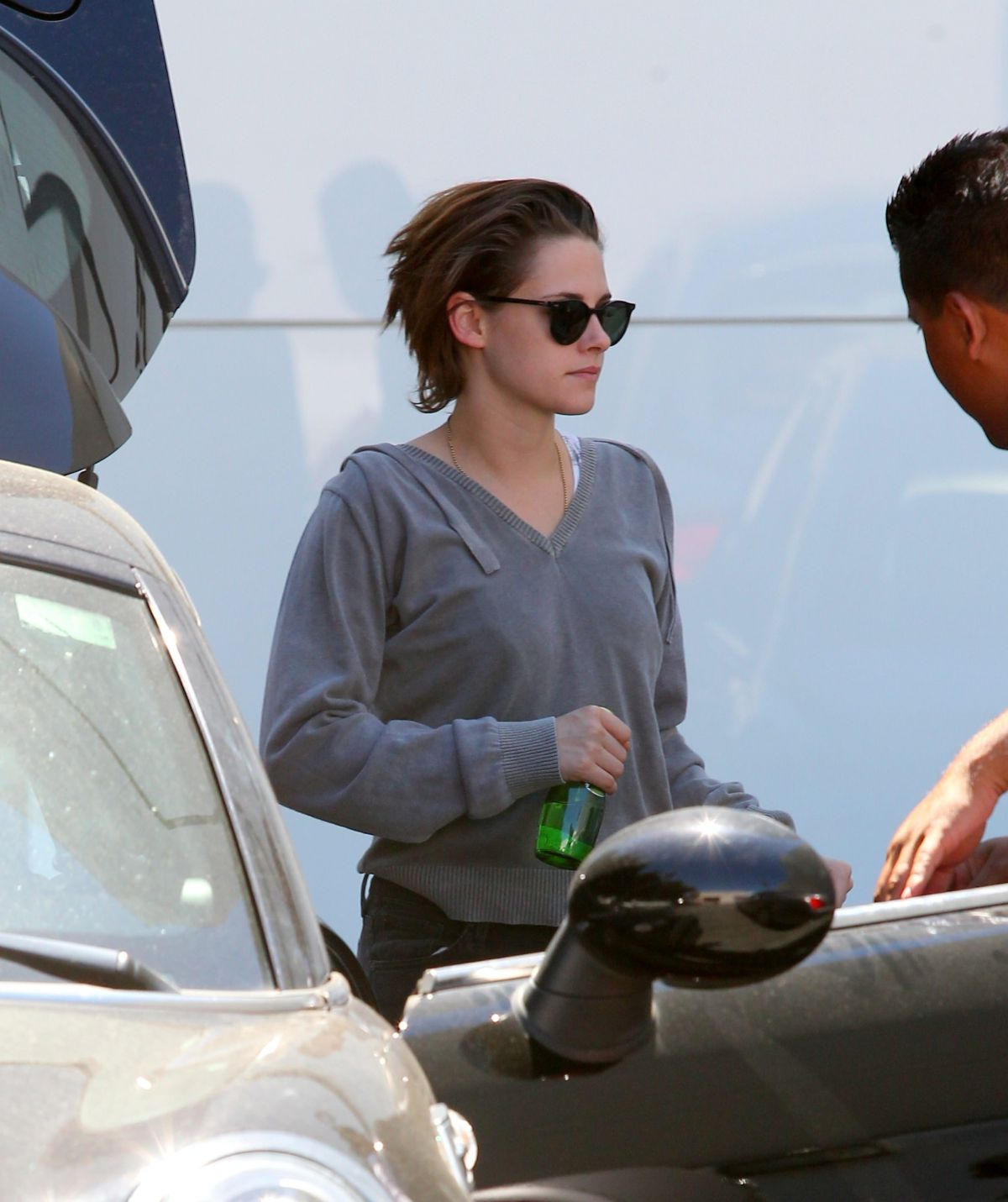 KRISTEN STEWART Out and About in Los Angeles 04/28/2015