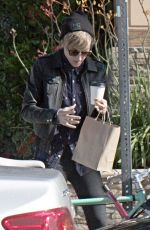 KRISTEN STEWART Out for Coffee in Los Angeles