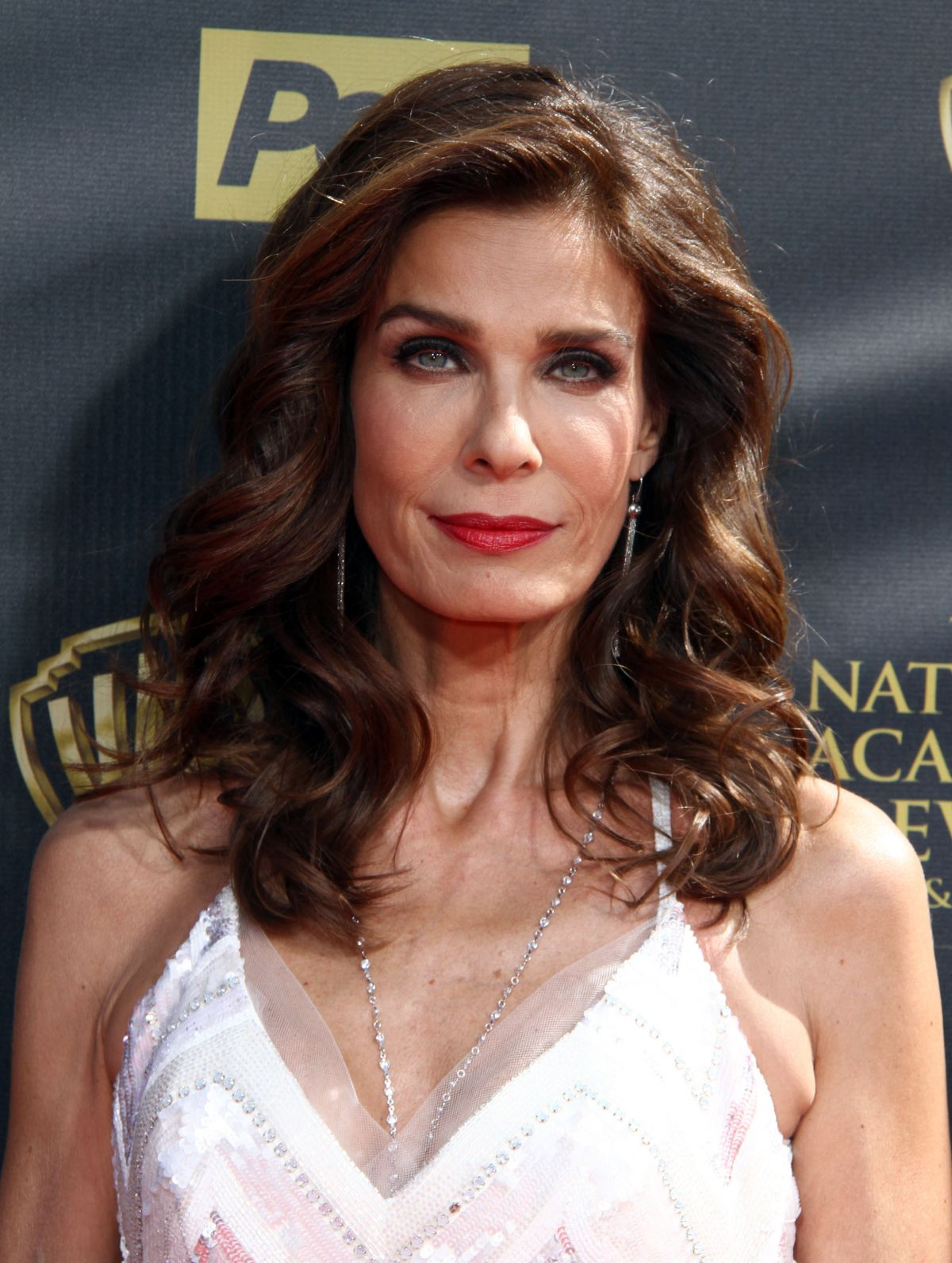 KRISTIAN ALFONSO at 2015 Daytime Emmy Awards in Burbank ...