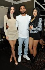 KYLIE and KENDALL JENNER, KHLOE KARDASHIAN and HAILEY BALDWIN at Calvin Klein Jeans Celebration Launch of MyCalvins Denim in Los Angeles
