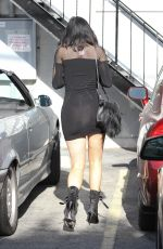 KYLIE JENNER in Mini Dress Out and About in Los Angeles