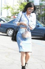 KYLIE JENNER Laves Fred Segal in Los Angeles