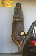 KYLIE JENNER Leaves Mr. Chow in Beverly Hills