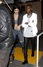 KYLIE JENNER Leaves The Forum in Los Angeles