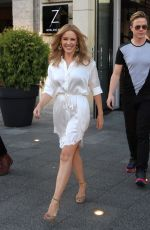 KYLIE MINOGUE Arrives at The Zoo Hotel in Berlin