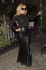 LADY GAGA Leaves Pump Restaurant in West Hollywood