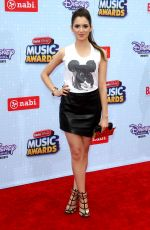 LAURA MARANO at 2015 Radio Disney Music Awards in Los Angeles