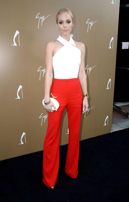 LAURA VANDERVOORT at Giuseppe Zanotti Beverly Hills Store Opening