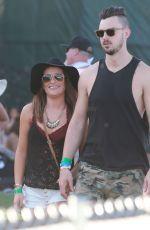 LEA MICHELE and Matthew Paetz at 2015 Coachella Music Festival, Day 2