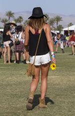 LEA MICHELE at 2015 Coachella Music Festival, Day 2