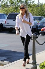 LEANN RIMES Out Shopping in Calabasas