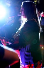 LEIGHTON MEESETER Performs at The Skybar in West Hollywood