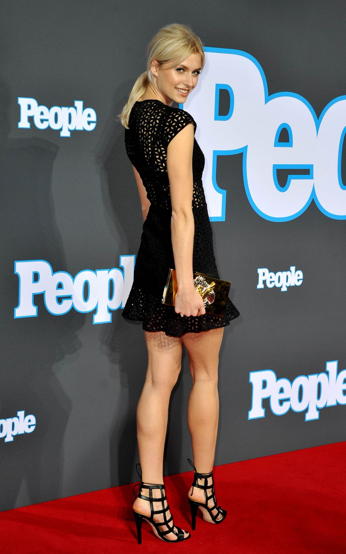 LENA GERCKE at People Magazin Launch Party in Berlin