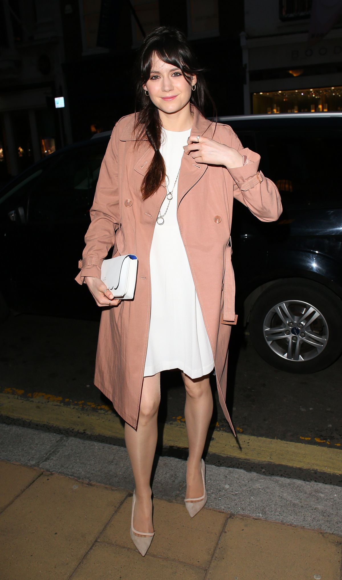LILAH PARSONS at Louise Roe Book Launch in London