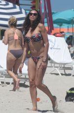 LILLY BECKER in Bikini at a Beach in Miami