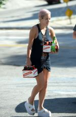 LILY ALLEN Out and About in Hollywood