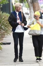 LILY ALLEN Out and About in West Hollywood 04/23/2015