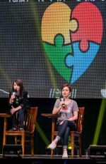 LILY COLLINS at We Day Event in Seattle