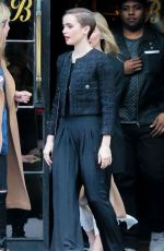 LILY COLLINS Leaves Her Hotel in New York