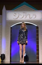 LILY JAMES at Cinderella Photocall in Tokyo