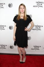 LILY RABE at Live from New York! Premiere at 2015 Tribeca Film Festival in New York