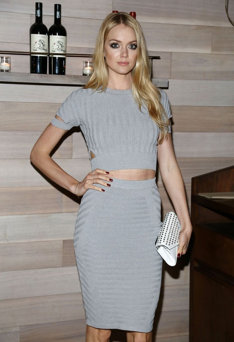 LINDSAY ELLINGSON at Maggie Afterparty in New York
