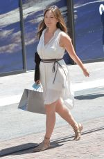 LINDSAY PRICE Out Shopping in Los Angeles 04/18/2015