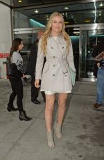 LINDSEY VONN Arrives at This Morning Studios in New York