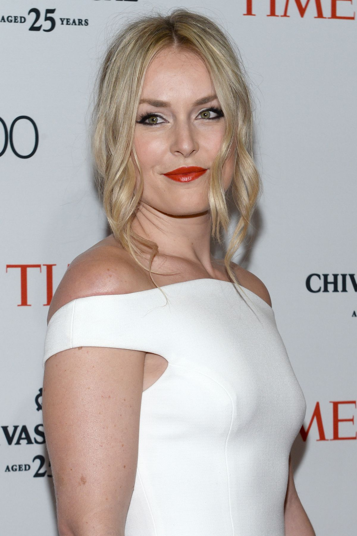 LINDSEY VONN at Time 100 Gala in New York