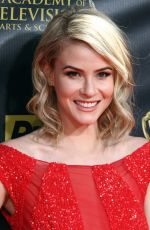 LINSEY GODFREY at 2015 Daytime Emmy Awards in Burbank