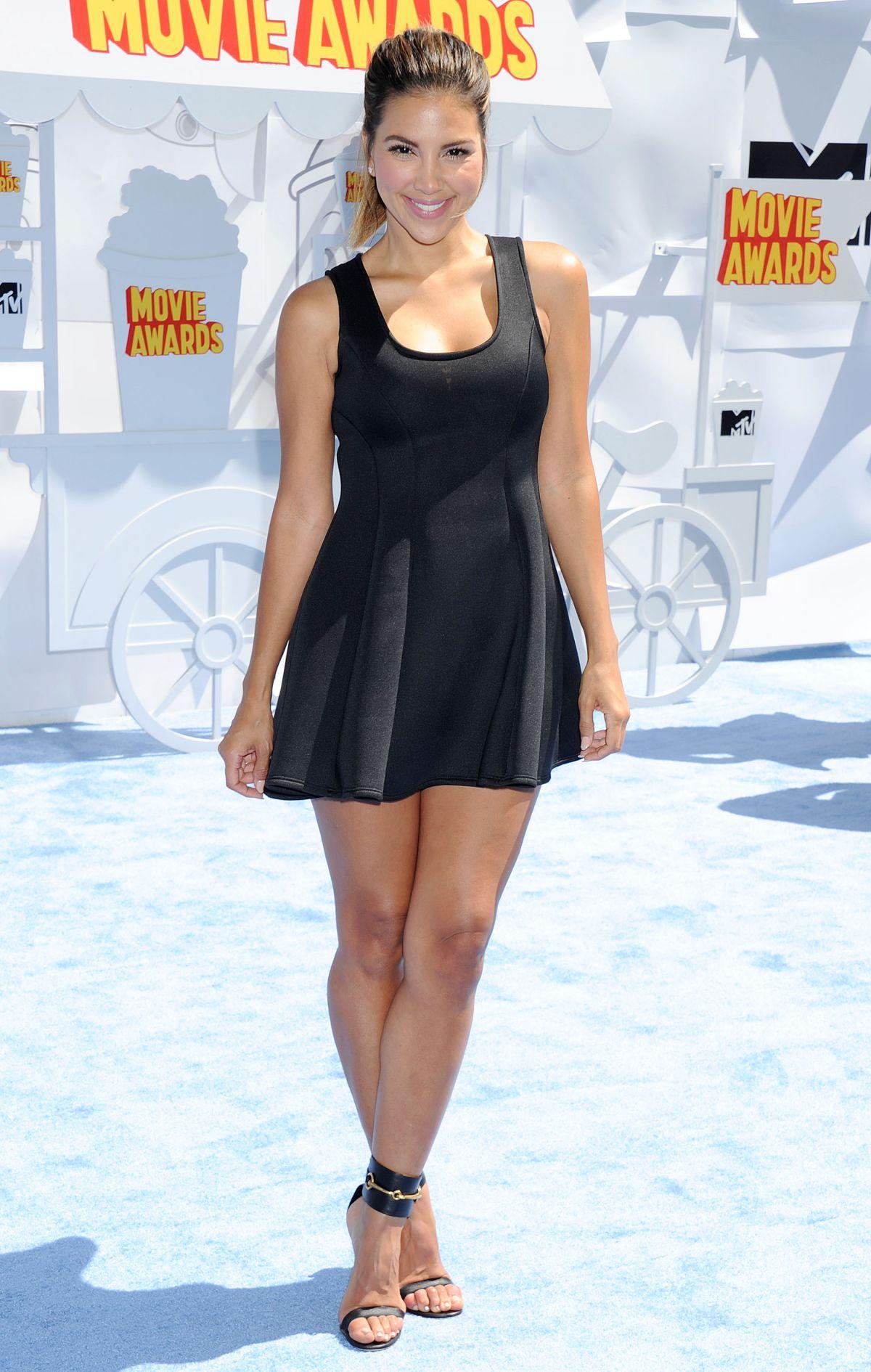 LIZ HERNANDEZ at 2015 MTV Movie Awards in Los Angeles