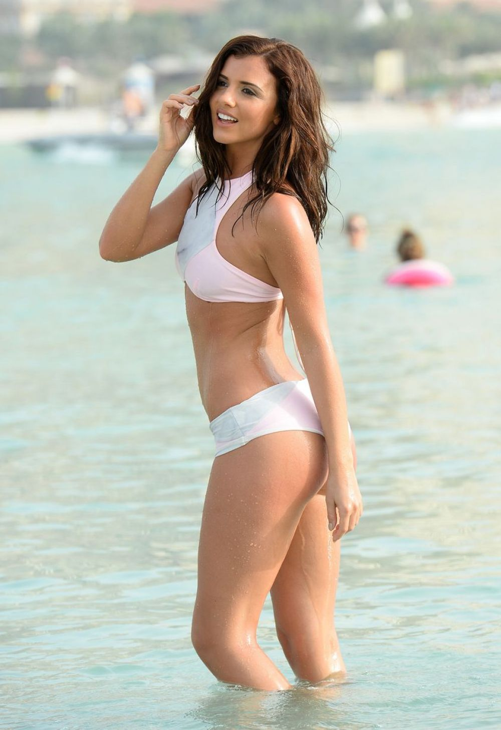 LUCY MECKLENBURGH on the Set of a Photoshoot in Dubai - HawtCelebs ...