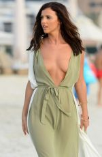 LUCY MECKLENBURGH on the Set of a Photoshoot in Dubai