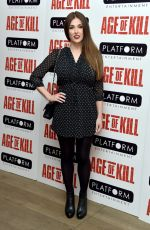 LUCY PINDER at Age of Kill Private Screening in London