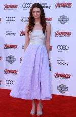 LYDIA HEARST at Avengers: Age of Ultron Premiere in Hollywood