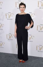 MAGGIE GYLLENHAAL at 2015 DVF Awards in New York